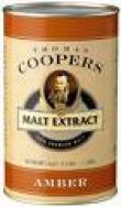 Liquid Malt Extract Coopers Amber 1.5kg