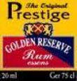 Prestige Golden Reserve Rum  Black Label